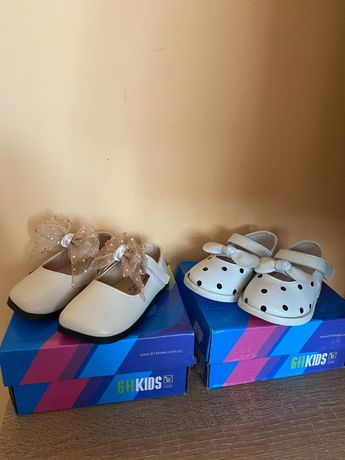Туфельки для дівчинки
