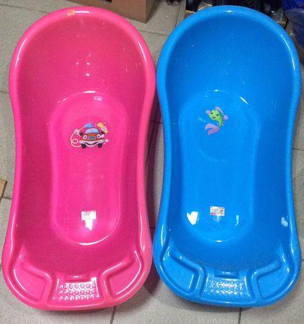 Ванночка для купания 55л и горка для купания НОВЫЕ! (разные цвета)