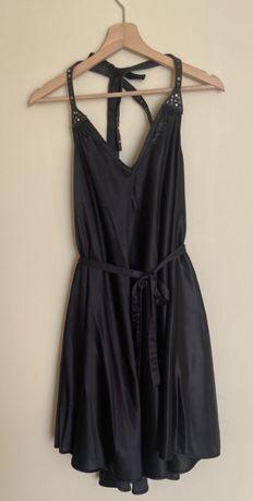 """Vestido """"Miss Sixty"""" verão preto"""