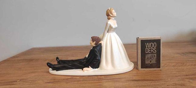 Figurka na tort ślubny Młoda Para
