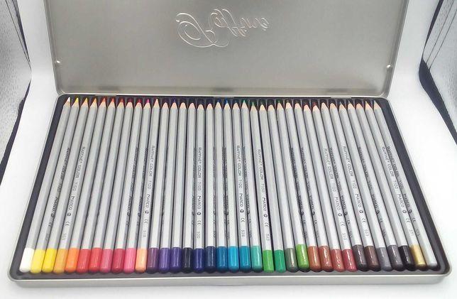 Карандаши цветные в металлической коробке Marco Raffine 7100-36TN