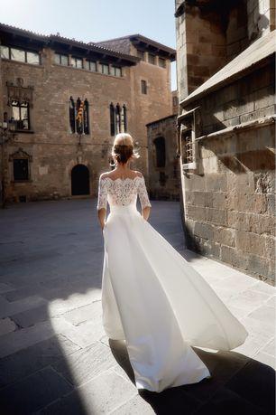 Свадебное платье костюм