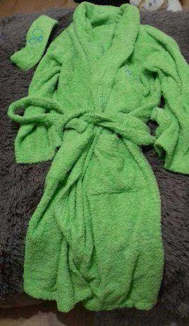 Robe 100% algodão verde TU