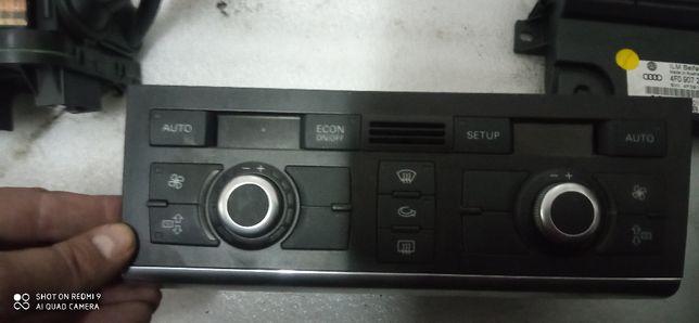 panel klimatyzacji nawiewu audi a6 c6 2,0 tdi 4f252,0043p