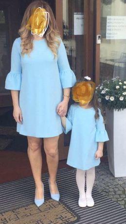 Sukienka dla mamy i córki komunia