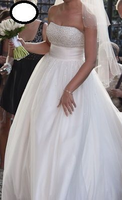 suknia ślubna herm's ruth księżniczka