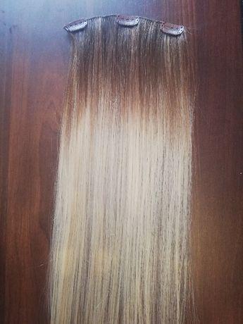 Dopinka, włosy naturalne, clip in