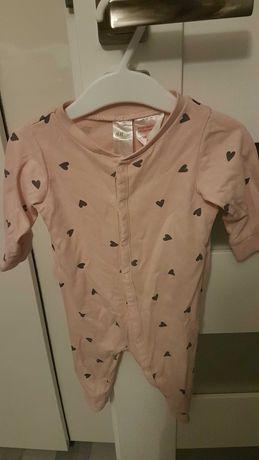 Piżama dziewczęca, pajac, 62, H&M