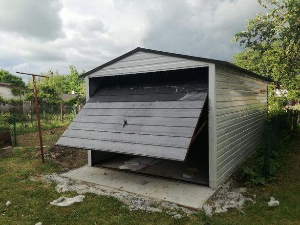 garaże blaszane, garaż 3x5,dach dwuspadowy, transport i montaż gratis