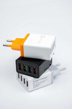 Сетевое зарядное устройство HRS HCJ-4308 с поддержкой Quick Charge 3.0