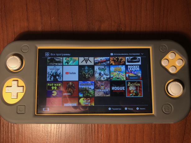 Nintendo switch lite+64gb и игры