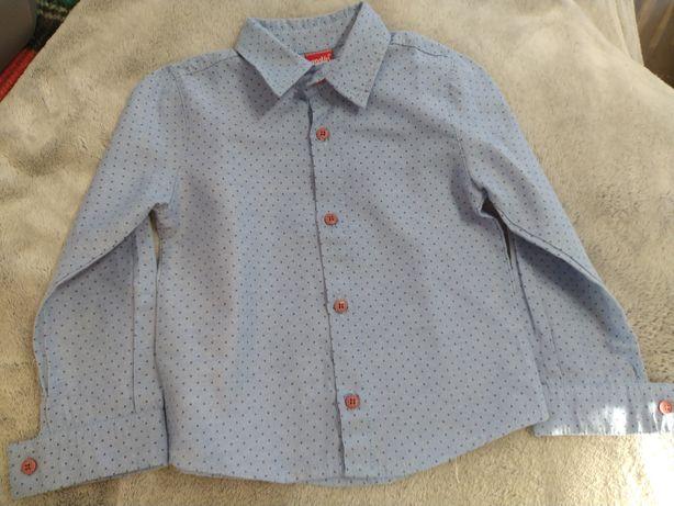 Sprzedam koszule niebieska elegancja z długim rękawem chłopiec