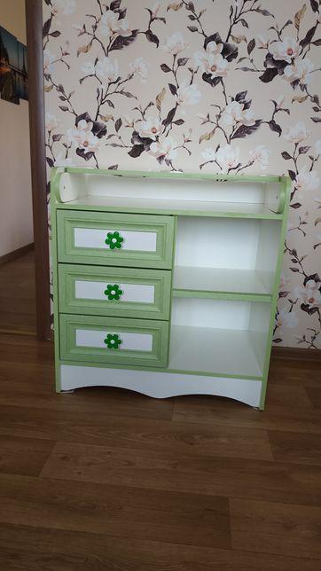 Пеленальный столик с комодом пеленатор