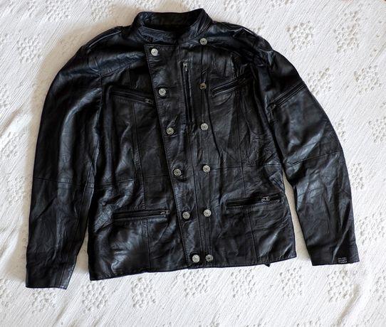 Casaco de couro homem pepe jeans