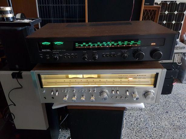 Receivers Vintage Rotel,Technics,Sanyo,Electown,Kenwood.Akai