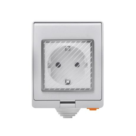 SONOFF S55 Wi-Fi Tomada inteligente à prova de água 16A IP55 250V