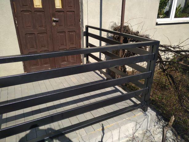 Bramy ogrodzenia, konstrukcje stalowe.