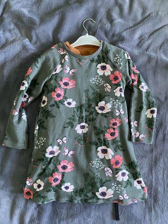 Платье с длинным рукавом H&M на 4-5 лет 116 размер