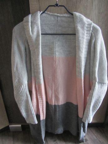 Sweter/kardigan damski, nowy, rozm. UNI
