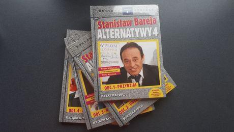 Stanisław Bareja Alternatywy 4 DVD + książka. Odc. 1-4. Nowe.