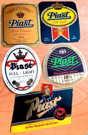 6 ciekawych etykiet z Piasta