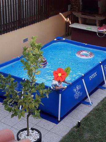 Intex piscina 3x2mt todos acessórios
