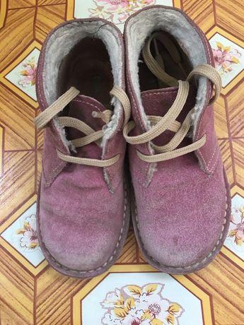Детские демисезонные ботинки для девочки