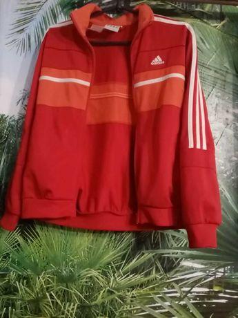 красная кофта adidas подростковая женская