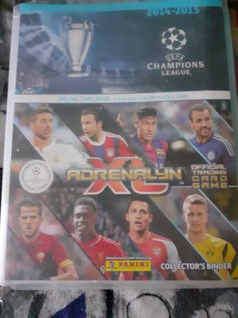 Karty piłkarskie Panini Champions League 2014/15