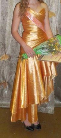 Очень красивое и оригинальное выпускное платье