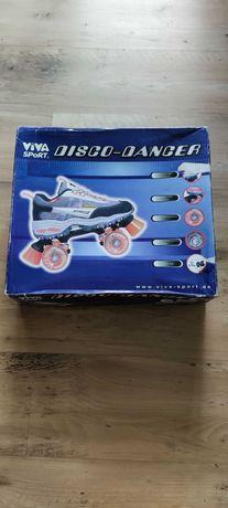 Wrotki Disco - Dancer Viva Sport (nowe, nieużywane)