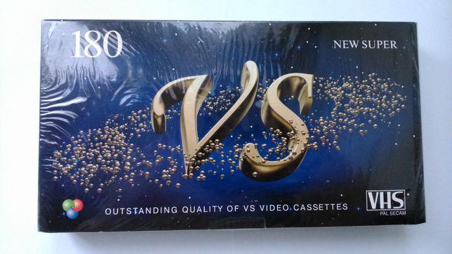 Новая видеокассета VS E - 180. NEW Super. Формат VHS. Запечатанная.