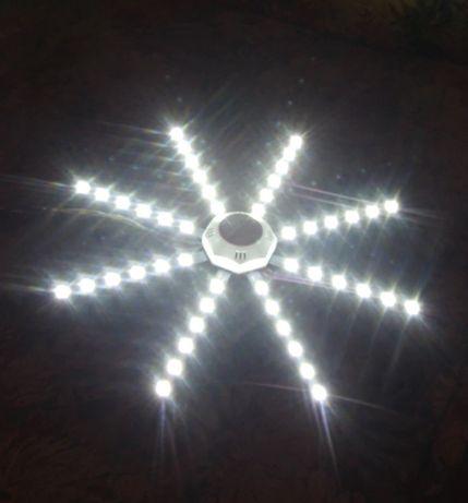 Светодиодная панель 24Вт, 220В, светильник, звезда