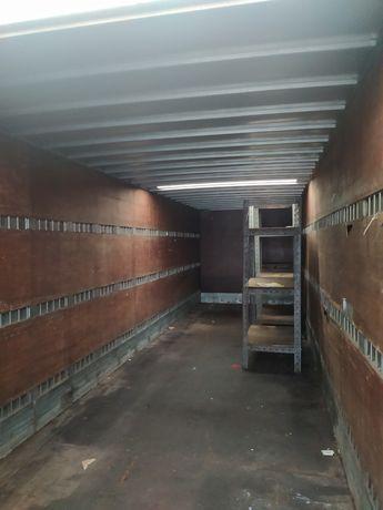 Naczepa  13,45 magazyn kontener garaż na budowę działkę