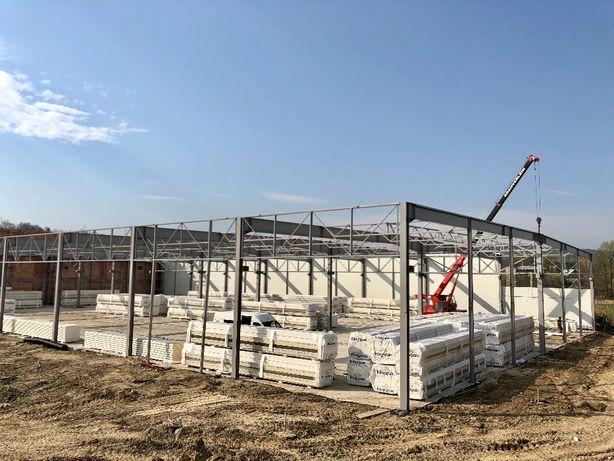 Konstrukcje stalowe tanio hale wiaty wysyłka cała polska