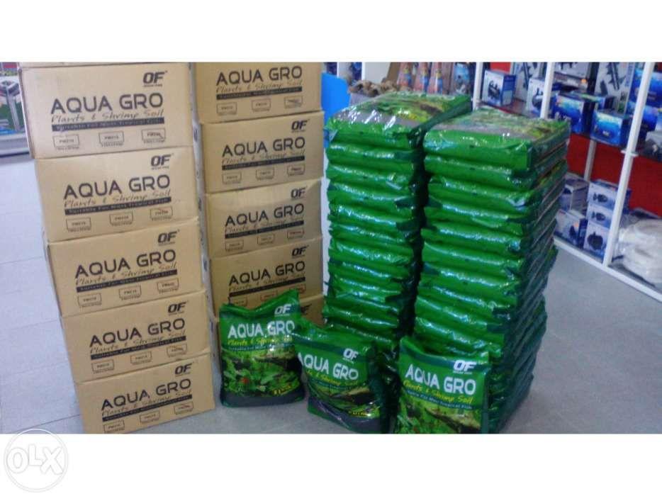 Substratos aqua gro embalagens de 8L para aquario