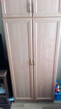 Szafa 2 drzwiowa ze ściąganym pawlaczem