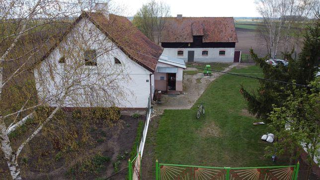 Dom Krzeczewo z podwórkiem
