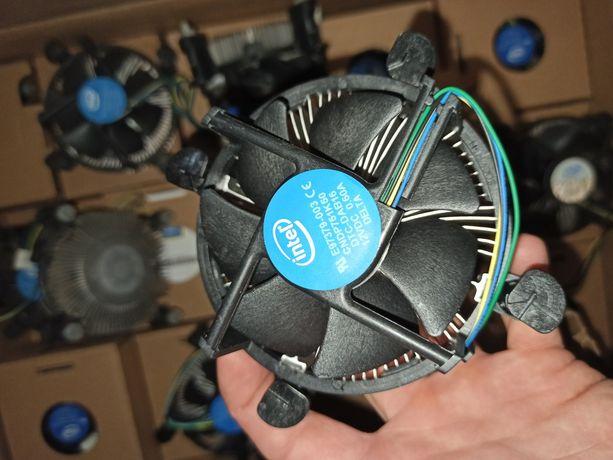 Кулер для процессора Intel НОВЫЕ Soket 1151, 1155, 1150 ,1156, 1200