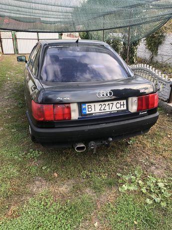 Audi 80 b3 1.8 газ бензин