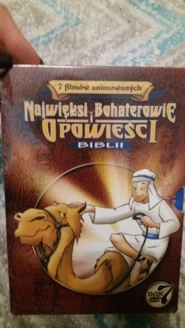 DVD najwięksi bohaterowie opowieści biblii