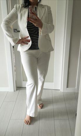 Білий лляний костюм (лен, льон)