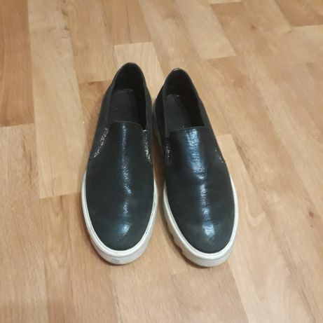Мокасины туфли кожа