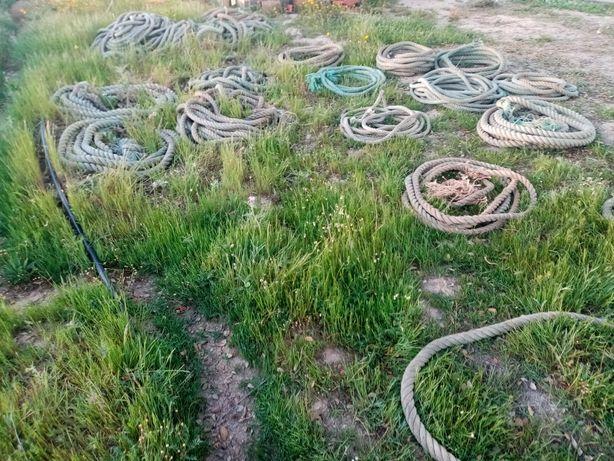 Cordas para picadeiros