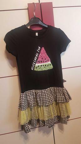 Firmowe sukienki dziewczęce, rożne rozmiary i ceny