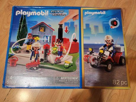 Klocki Playmobol 5169 strażacy w akcji+ quad