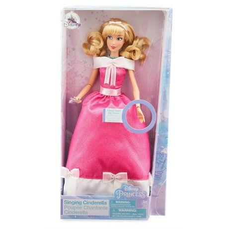 Золушка поющая кукла Жасмин Моана принцесса Дисней Disney