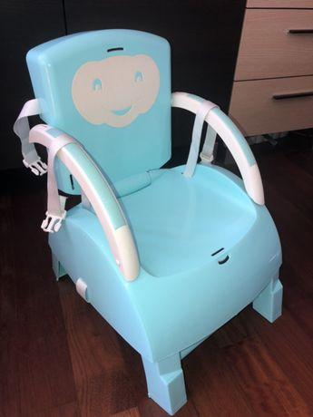Krzesełko do karmienia dla dzieci BABYTOP 4w1 smyk thermobaby