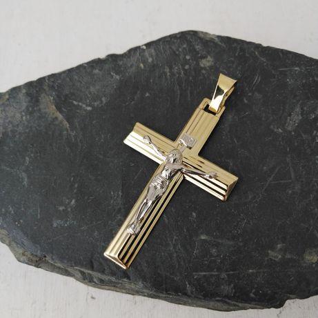 Złoty krzyżyk ,  złoto 585