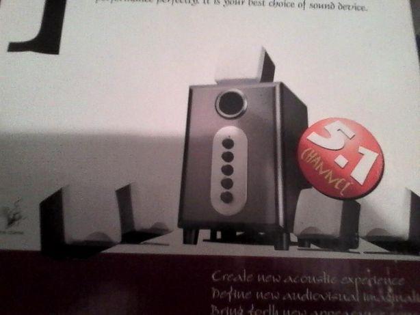 sistema de som com sobwoofer para tv ou pc